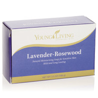Lavender Rosewood Moisturizing Bar Soap for Sensitive Skin by Young Living - 3.5 oz.