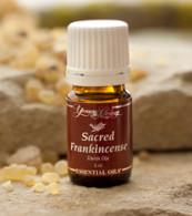 Sacred Frankincense (Boswellia sacra) 100% Pure Therapeutic-Grade Frankincense Essential Oil 5 ml Bottle - Young Living