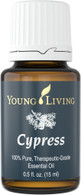 Cypress (Cupressus sempervirens) Essential Oil 15 ml - Young Living, Grounding, Winter and Oily Skin