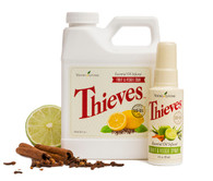 Thieves Fruit & Veggie Soak & Spray Combo Pack by Young Living