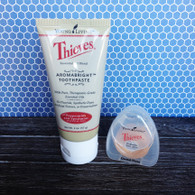 Thieves Travel Oral Care Kit - Young Living Essential Oil Toothpaste and Floss