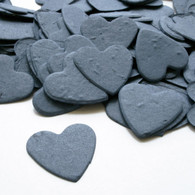 Heart Shaped Plantable Confetti - French Blue