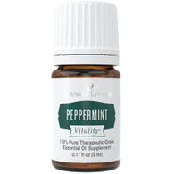 Peppermint Vitality Essential Oil 15ml - Young Living, Dietary