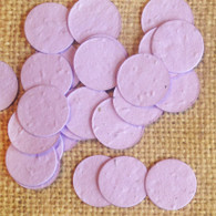 Circle Shaped Plantable Confetti - Lavender
