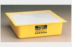 EAGLE Yellow Drip Pan with Polypropylene