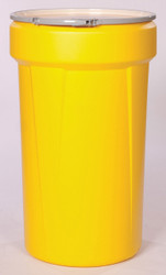 55 Gal. Drum (Yellow) Open-Head Tapered w/ Metal Ring