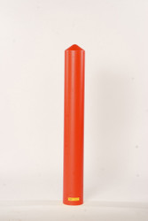 "4"" Bumper Post Sleeve-Smooth Sided-Red"