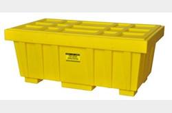 EAGLE 110 Gal. Spill Kit Box w/lid  Yellow