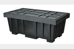 EAGLE 110 Gal. Spill Kit Box w/lid  Black