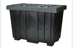 EAGLE 220 Gal. Spill Kit Box w/lid  Black