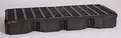 2 Drum Modular Platform - Black w/Drain