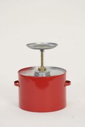 Metal - Red - 4 Qt. (P-704)
