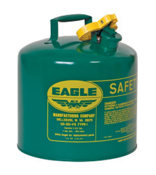 Metal - Green (Oils or Combustibles) - 5 Gal.