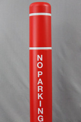 """Innoplast No Parking 2"""" Letters in white reflective 3M material"""