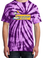 Purple Tie-Dye - Homeschool Mama