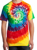 Rainbow Tie-Dye - Homeschool Mom Proverbs 22:6 Shirt