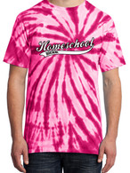 Pink Tie-Dye - Homeschool Rocks (Baseball)