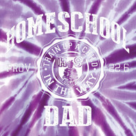 Homeschool Dad (Tie Dye)