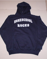 Homeschool Rocks (Hooded Sweatshirt)