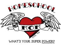 Homeschool Mom Super Power T-Shirt