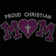 Christian Mom Rhinestud (V-Neck)