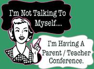 Parent Teacher Conference (V-Neck)