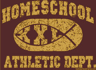 Homeschool Athletic Department (Sweatshirt)
