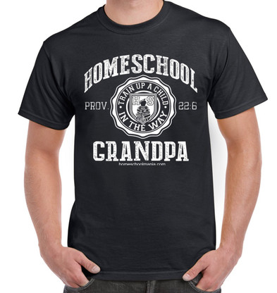 Homeschool Grandpa - Black