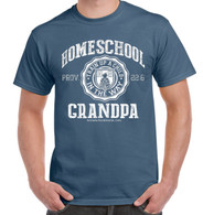 Homeschool Grandpa - Indigo (Stone) Blue