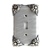 Bloomer Ice Single Toggle Switch Cover