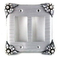 bloomer double rocker switch cover ice