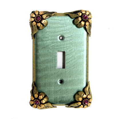 Bloomer Single Toggle Switch Cover Ivy