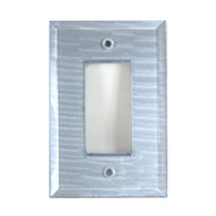 Light Sapphire Glass Single Decora Switch Cover
