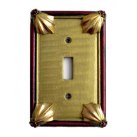 Cleo Single Toggle Switch Cover jade