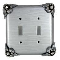 bloomer double toggle switch cover ice