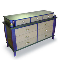 Barcelona Dresser shown with Orbit Pulls an 2 inch Diameter Knobs