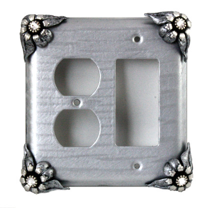bloomer duplex outlet decora  switch cover ice