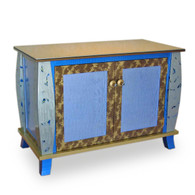 Ritz Media and storage cabinet has 2 adjustable shelves and 3 drawers