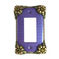 bloomer Iris single decora switch cover