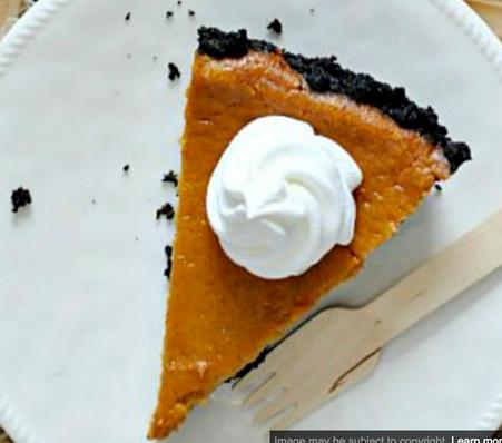 Oreo Pumpkin Cheesecake. Serves 8-10 slices