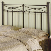Rustic Metal Queen Bed Headboard