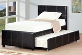 Espresso Full Bed With Trundle