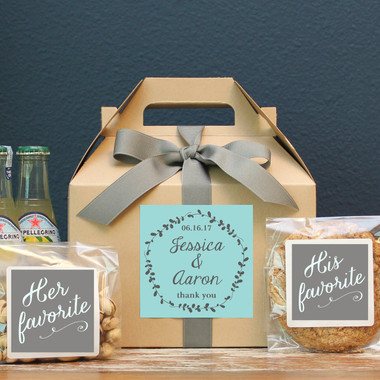 Wedding Welcome Boxes - Laurel Label