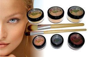 "Lrg Natural Mineral Makeup ""At Home Kit"""