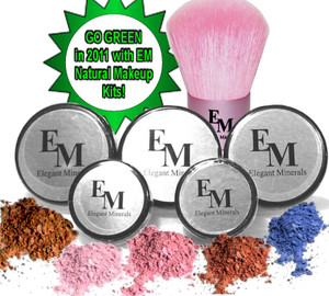 """Get twice the foundation colors, you can select the same color or a secondary color to help you achieve your custom blend. This is a deluxe Starter & Travel kit because it's easily portable. Checkout our, """" At Home Kits for the larger sizes."""