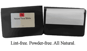 100pk Natural Facial Blotters