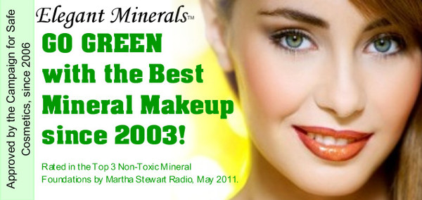 Go Green with the Best Mineral Makeup since 2003!
