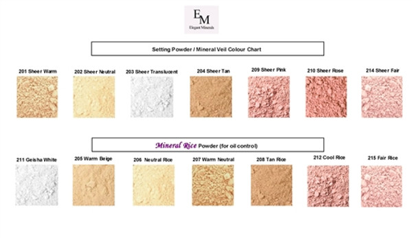 BULK Mineral Setting Powder