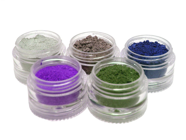 Natural SPF-15 Custom Stackable Mineral Eye Shadow Quad