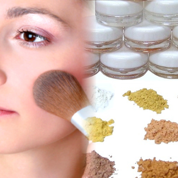 Our natural crushed mineral powders are pure, lightweight, silky and available in over 35 colors.
